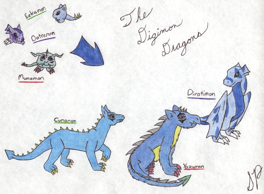 The Digimon Dragons